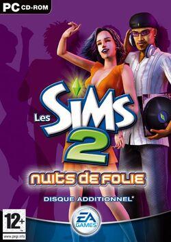 Jaquette Les Sims 2 Nuits de Folie.jpg
