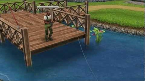 The Sims FreePlay GONE FISHING!