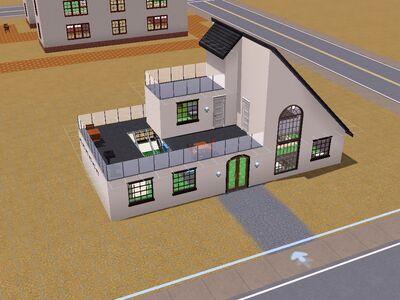 Sala de esparcimiento ''Baldía'' versión de Luis Simspedia