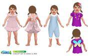 Les Sims 4 Bambins Concept art 4