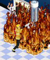 Ts1 firefighter freddy fighting a fire