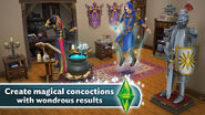 The Sims FreePlay Monsters and Magic Create Magical Concoctions