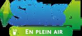 Logo Les Sims 4 En plein air