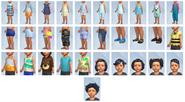 Sims4 Infantes CAS