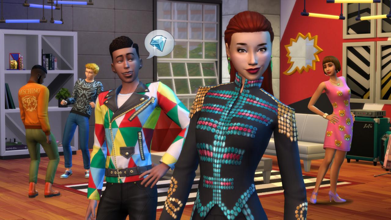 The Sims 4: Moschino Stuff
