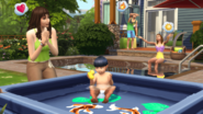 TS4 Climates pool party