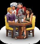 Los Sims 4 Escapada Gourmet Render 01