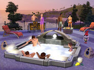 TS3 OutdoorLiving SP3 HotTub