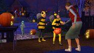 TS3 seasons fall halloween