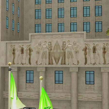 Roaring Heights Hôtel de ville Les Sims 4.jpg