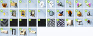 Sims 4 Escalofriante objetos