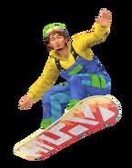 Sims 4 Escapada en la Nieve Render 4