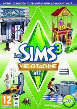 Jaquette Les Sims 3 Vie Citadine.jpg