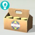 TS4 Floral Kombucha Box