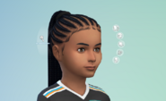 TS4 Patch 105 hair update 1