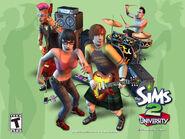 Sims2 Universitarios Banda