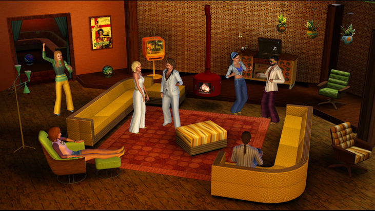 The Sims 3: 70s, 80s, & 90s Stuff