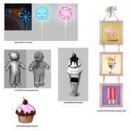 Les Sims 3 Katy Perry Délices Sucrés Concept art 2