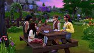 TS4 EP11 picnic