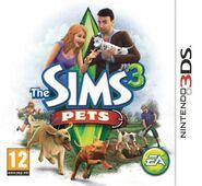 Sims 3 Pets Box Art 3DS