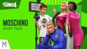 Les Sims™ 4 Kit d'Objets Moschino bande-annonce officielle