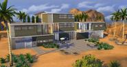 Affluista Mansion back