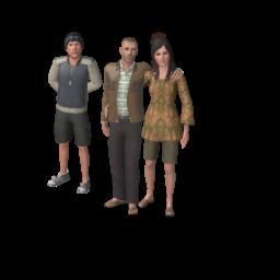 Семья Диван