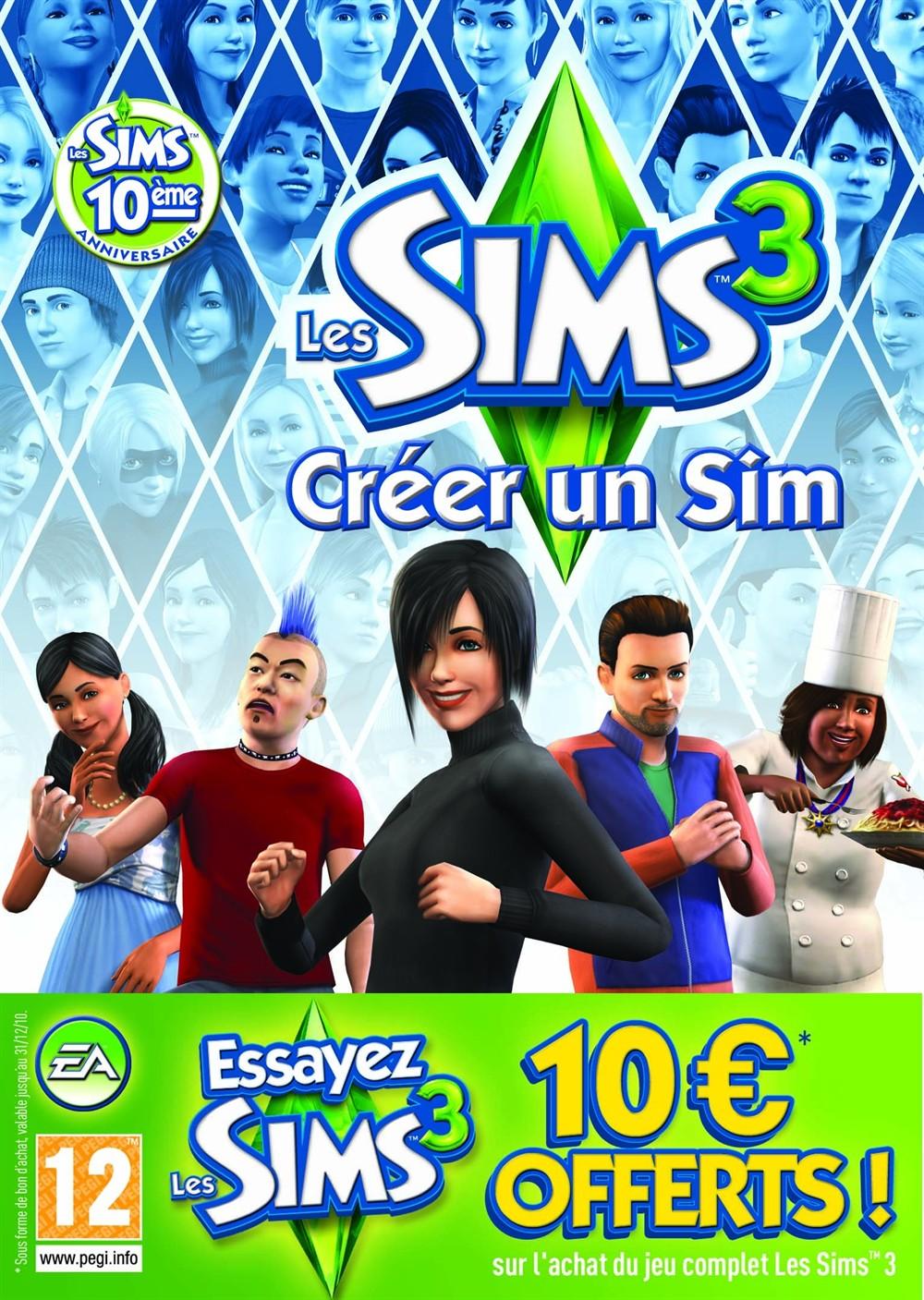 Les Sims 3: Créer un Sim