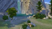 Deep Woods waterfall