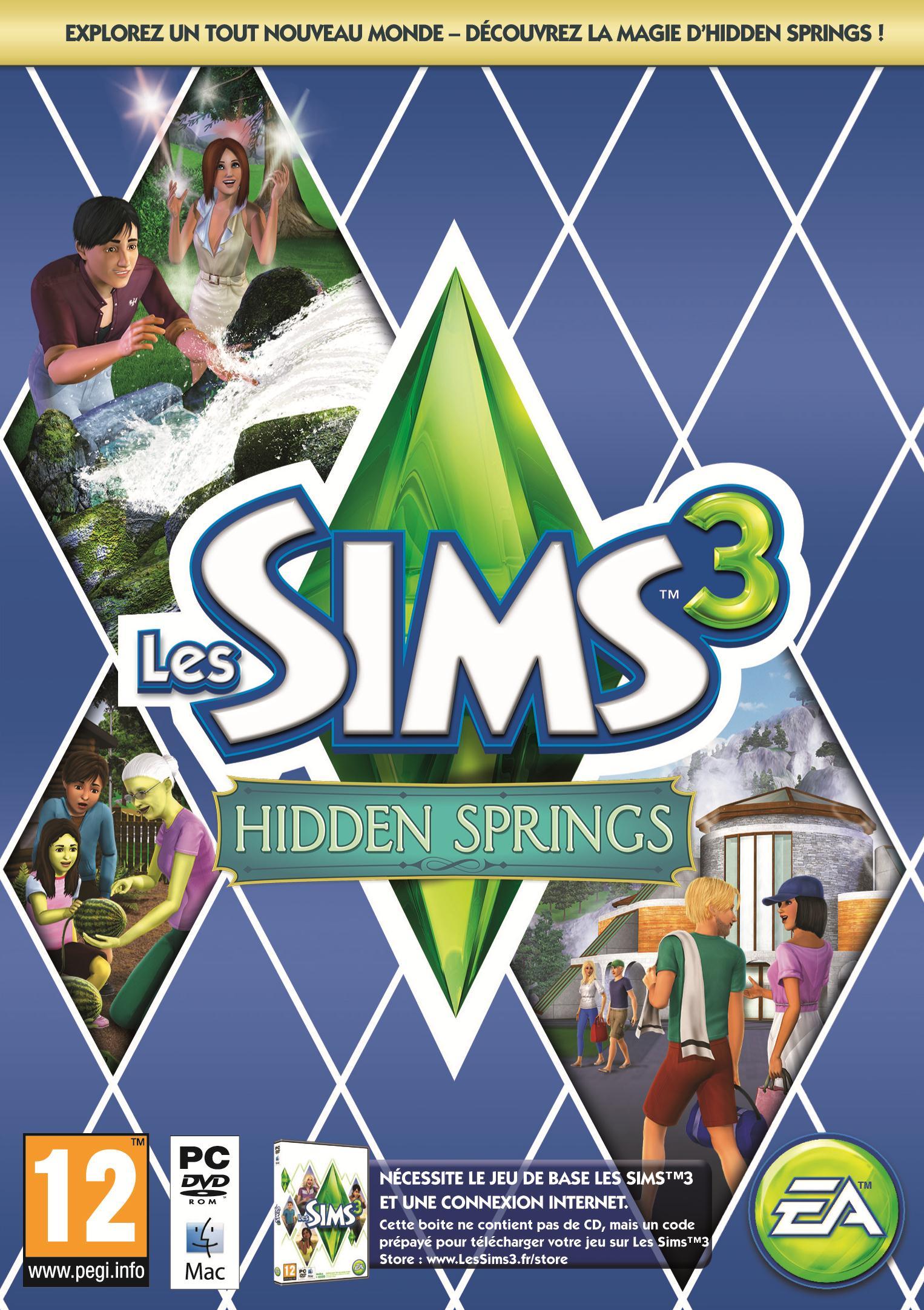 Les Sims 3: Hidden Springs