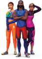 Sims4 Fitness Render 1