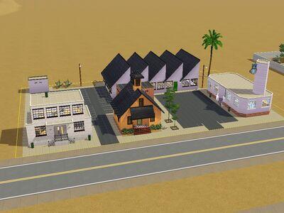 Solar comunitarios de Las Rarezas versión de Luis Simspedia