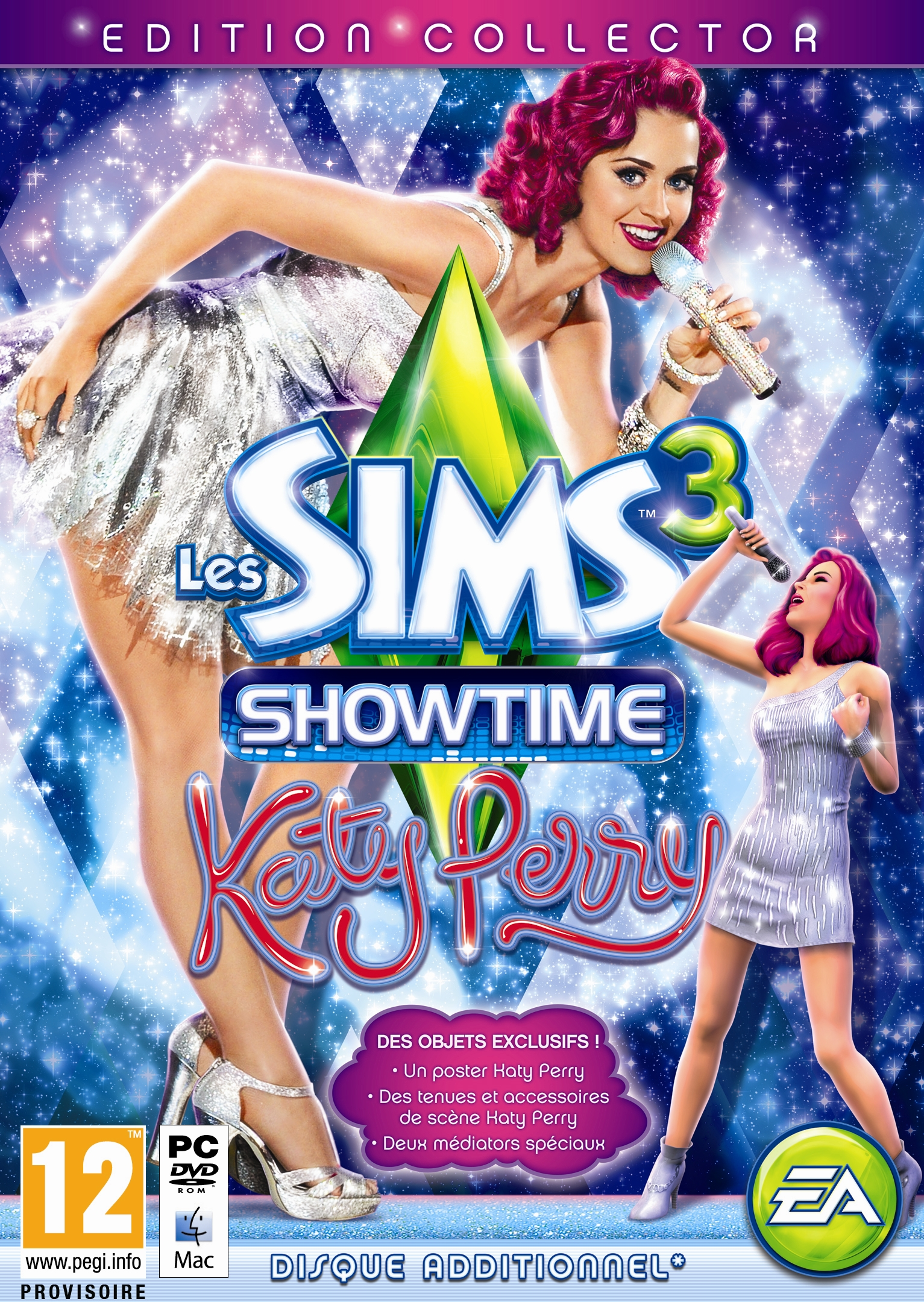 Les Sims 3: Showtime Edition Collector Katy Perry