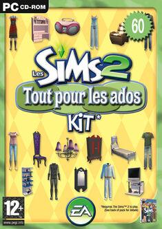 Jaquette Les Sims 2 Tout pour les ados.jpg