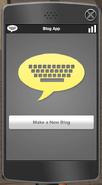 Make new blog interface