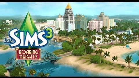 Les Sims 3 Roaring Heights Nouveau monde pour Les Sims 3