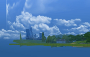Ts4 world from outside
