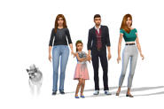 Lincoln croft family 6