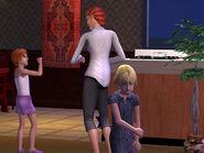 Mina y Nina de niñas