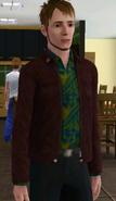 Robert Newbie i spillet.