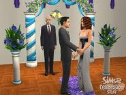 The Sims 2 Wedding Photo 7