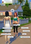Katrina Caliente chatting