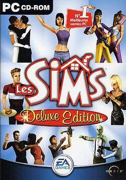 Jaquette Les Sims Deluxe.jpg