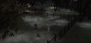 Forgotten hollow cemetery