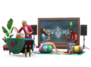 The Sims 4 Movie Hangout Render 02