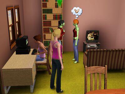 Unidad Domestica Soltería versión de Luis Simspedia