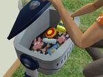 Freezer Bunny toy box 2