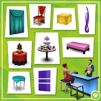 Les Sims 4 Soirées de Luxe Contenu 1