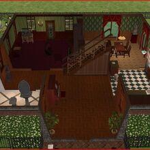 Goth home the sims 2 first floor.jpg