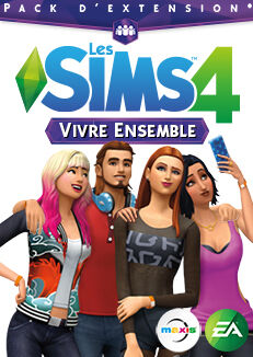 Packshot Les Sims 4 Vivre Ensemble.jpg